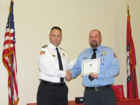 Chief Laughy and Lt Roachell Life Saving Award 3