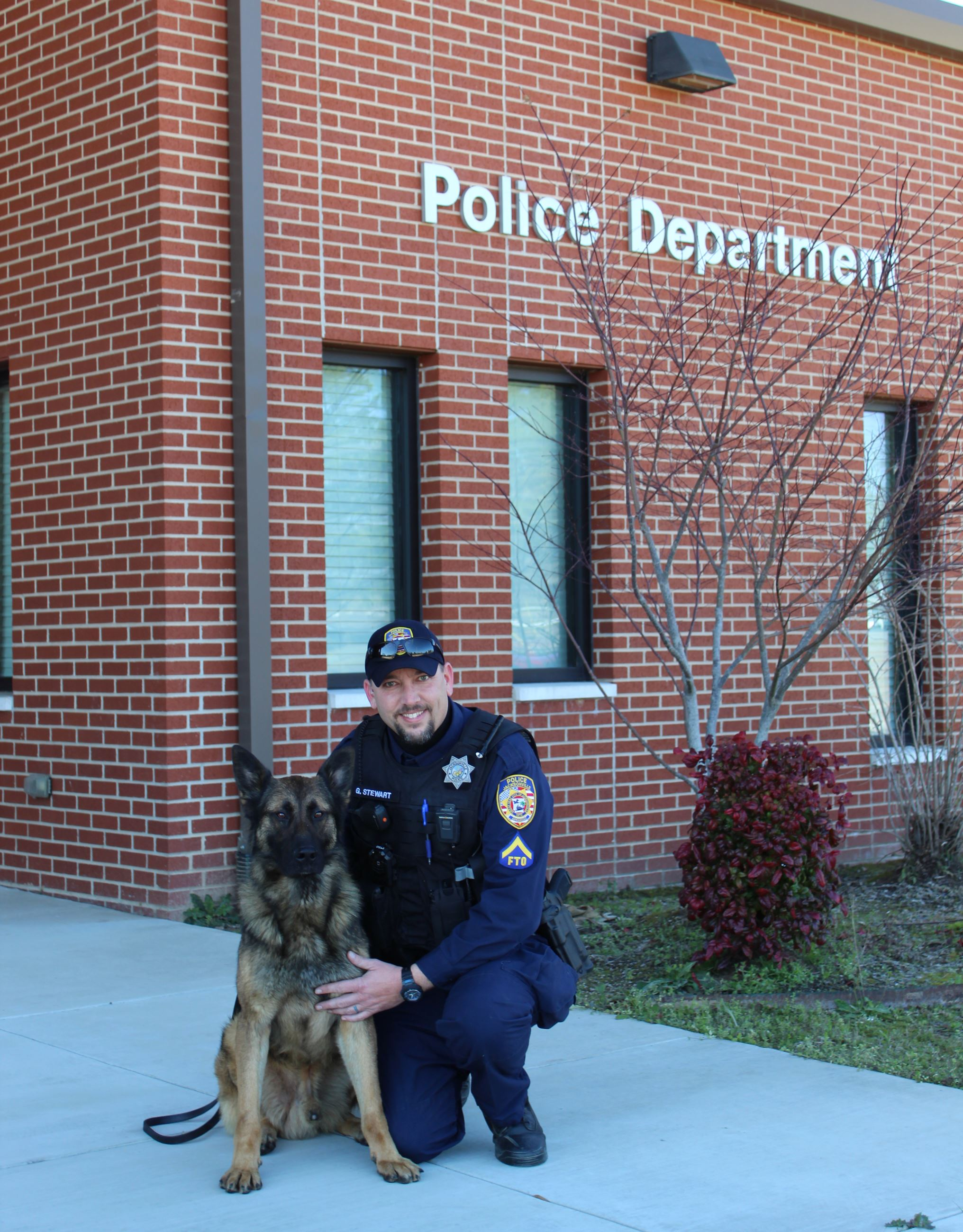 K-9 Joker and Officer Greg Stewart