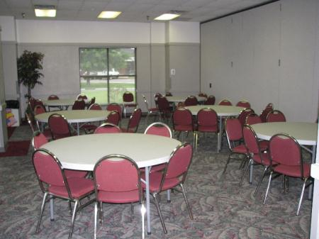 Meeting Room A with Banquet set up