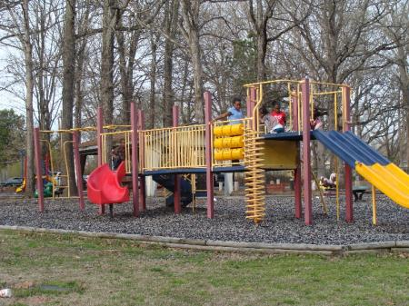 Children Playing on the Johnson Park Playground